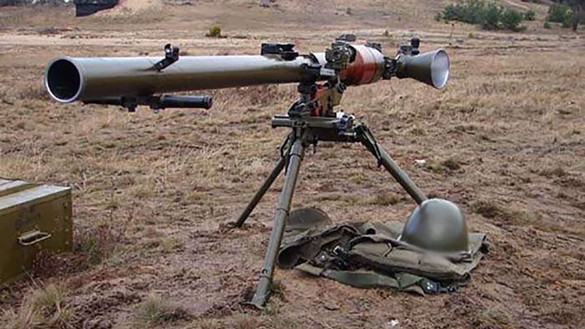 Из такого же гранатомета боевики обстреляли Красногоровку