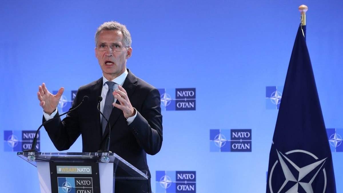 Це займе певний час, – Столтенберг про вступ України в НАТО