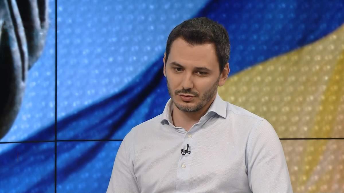 "Кандидат в нардепы от ""Слуги народа"" Егор Чернев"