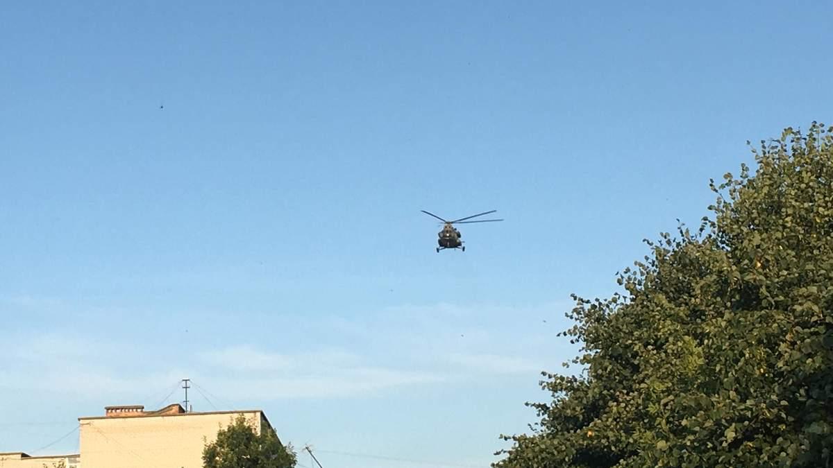 Вертолет на округе, где проигрывает Пашинский, уже улетел из Коростеня