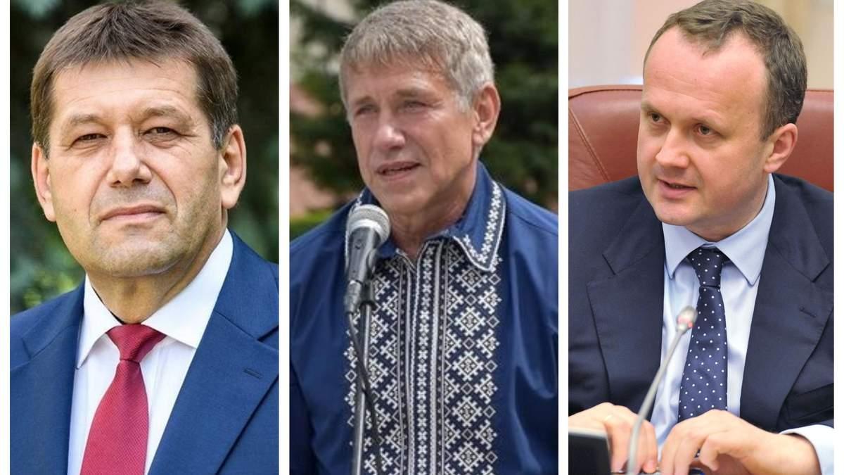 Кистион, Носилки и Семерак не проходят в парламент