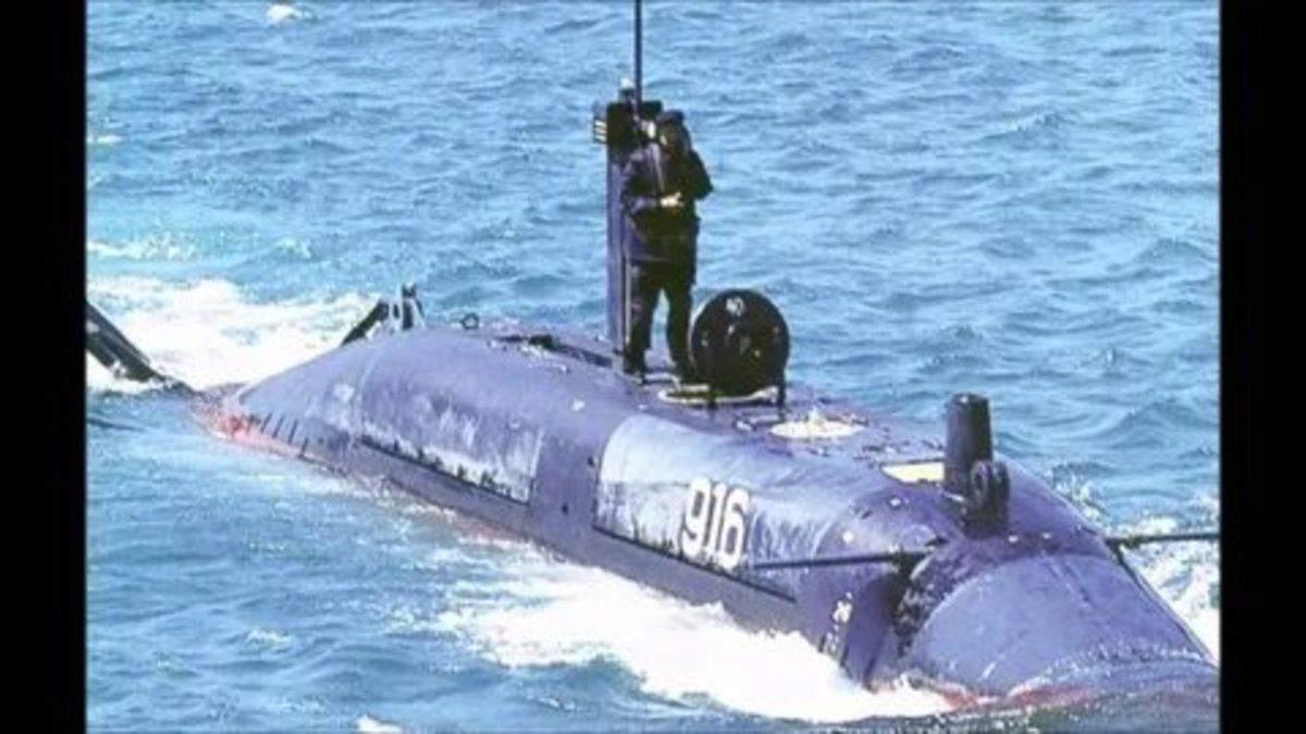 """Подводная лодка """"Лошарик"""""""