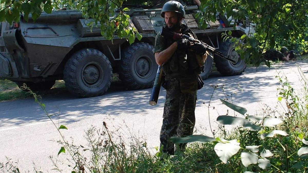 Спокойствие длилось недолго: боевики обстреляли украинских воинов под Луганским