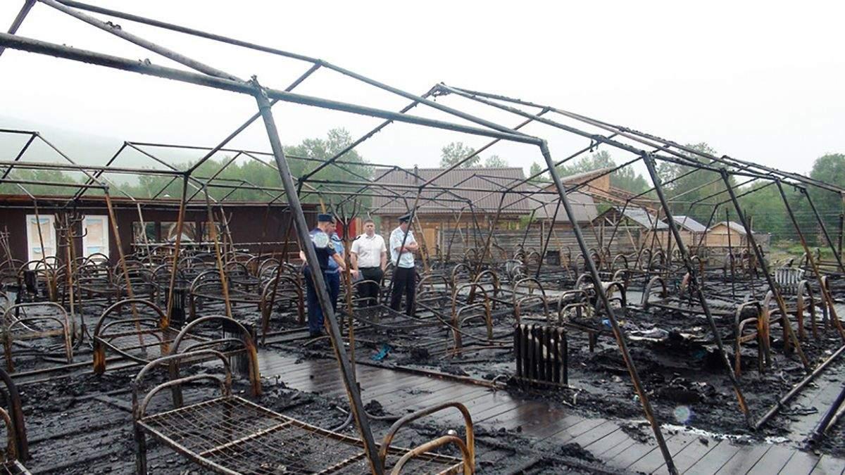Пожежа в дитячому таборі 23 липня 2019, Хабаровськ – багато жертв – відео та фото