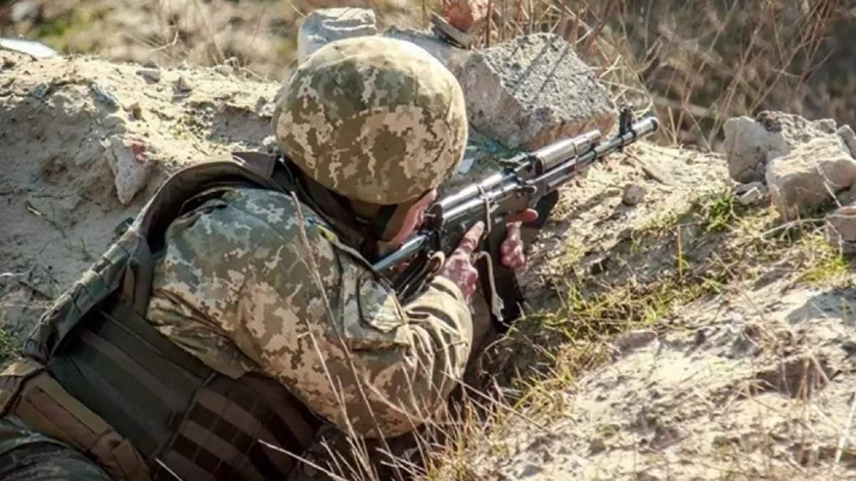 На Донбассе твое оккупантов подорвались на взрывчатке