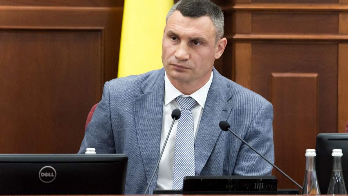 Богдан просить Кабмін звільнити Кличка з посади голови КМДА