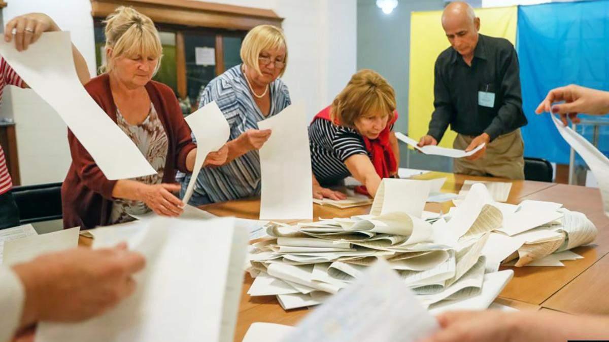 Підрахунок голосів після парламентських виборів