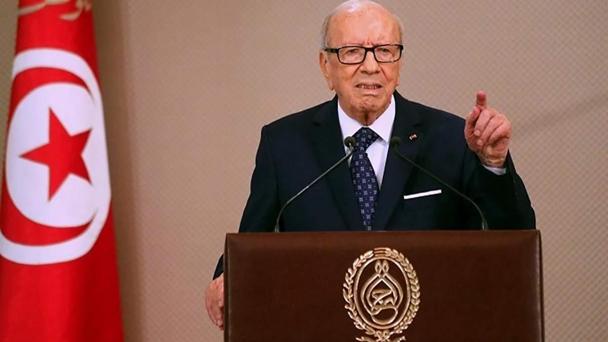 Умер Беджи Каид Эс-Себси – причина смерти президента Туниса