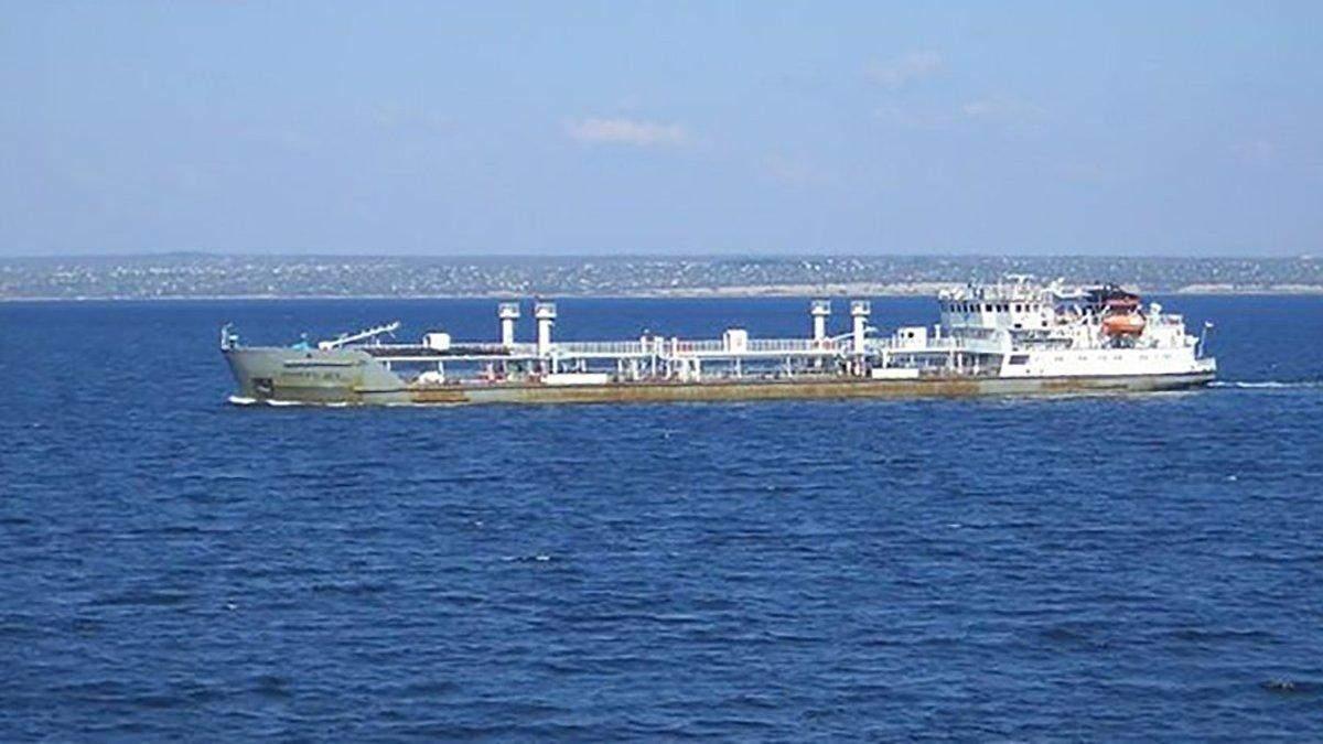 Задержан танкер NEYMA – видео задержания танкера