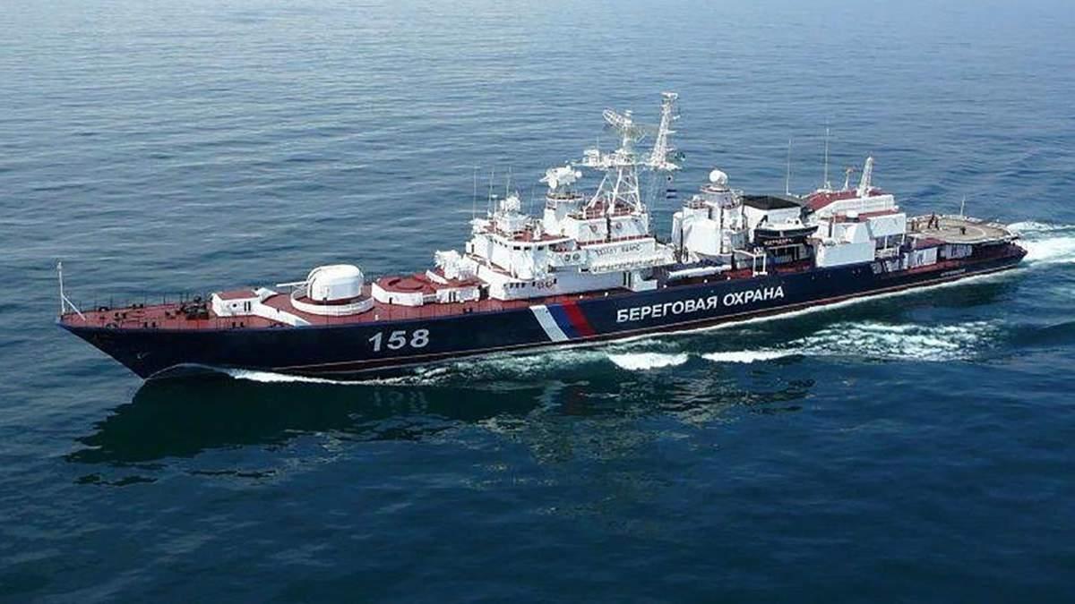 Росія намагаються спровокувати Україну в Азовському морі