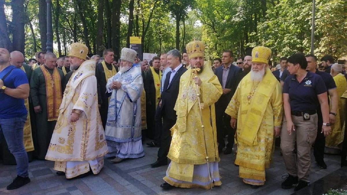 Хресна хода 2019 Київ – Православна церква України – відео та фото