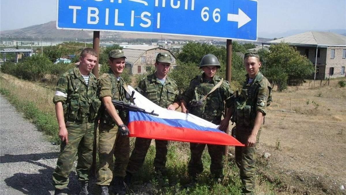 Грузино-российская война: основные даты противостояния