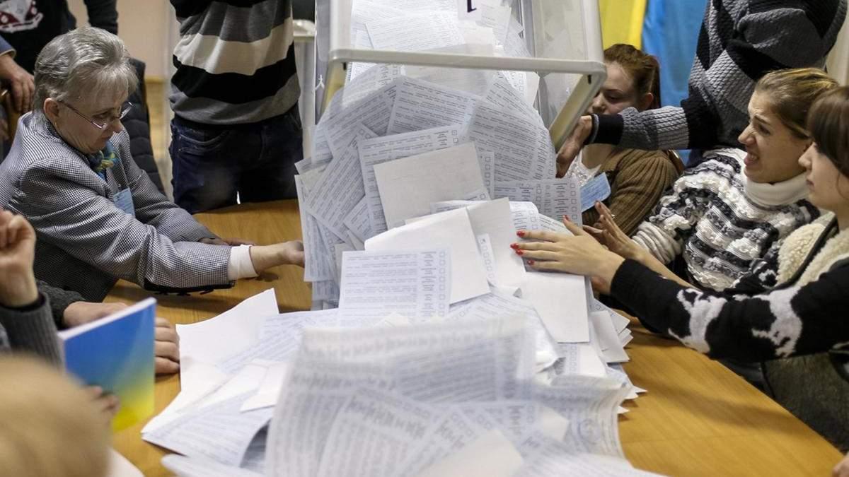 На 64 окрузі перерахують голоси