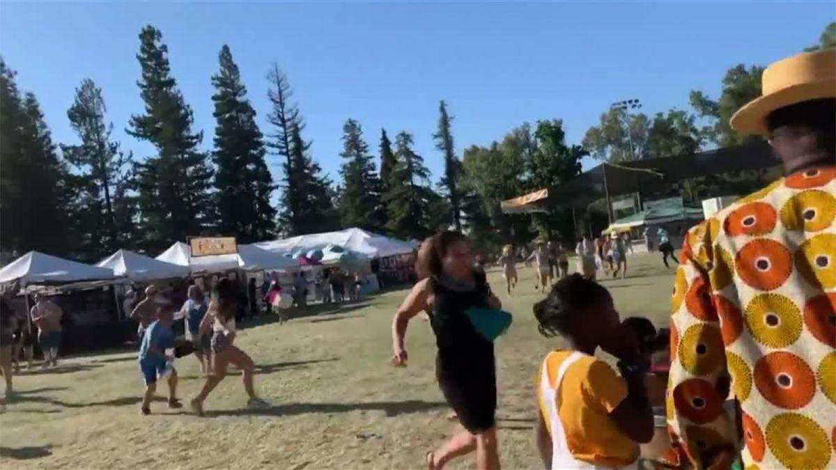 Стрельба в Калифорнии на фестивале еды 28 июля 2019 – видео и фото
