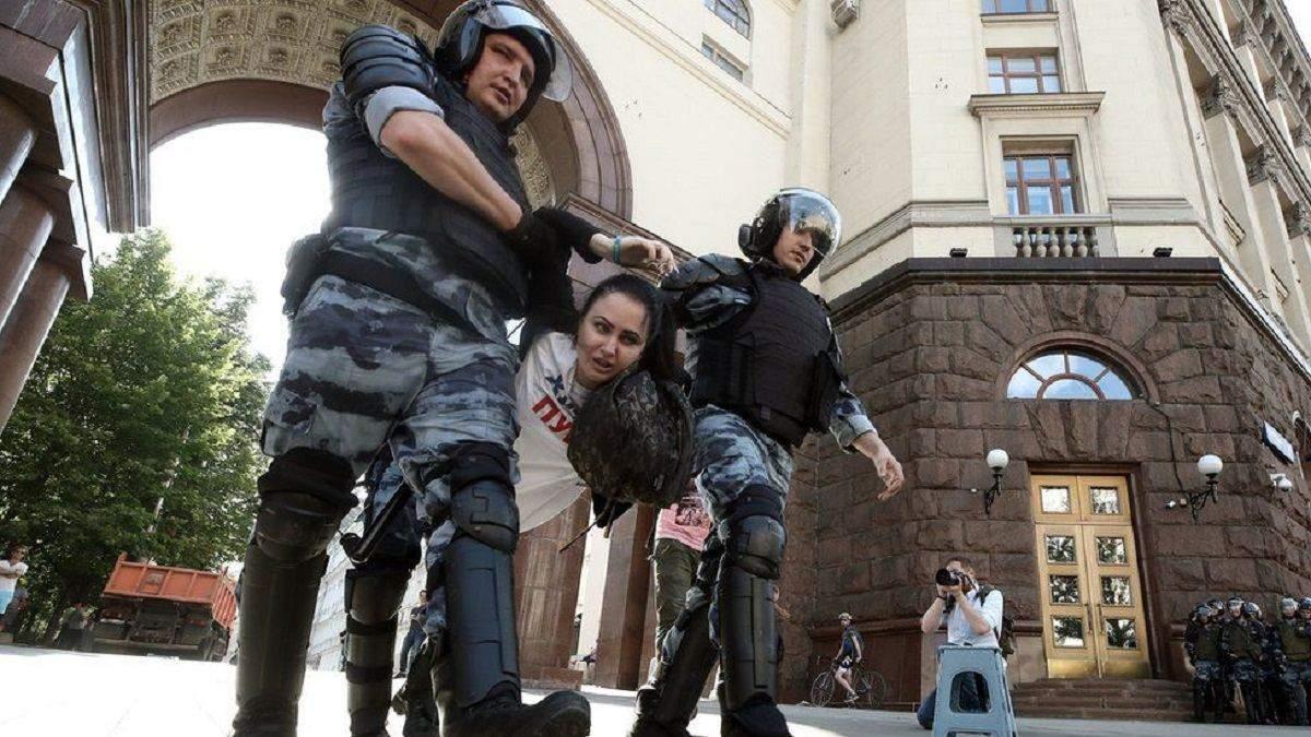 Митинги в России и Украине: почувствуйте разницу!