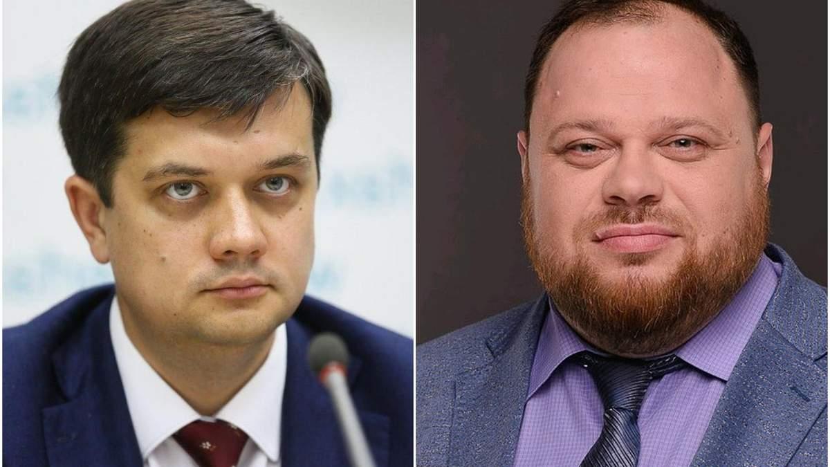 Разумков може стати спікером Ради, а Стефанчук – віце-спікером