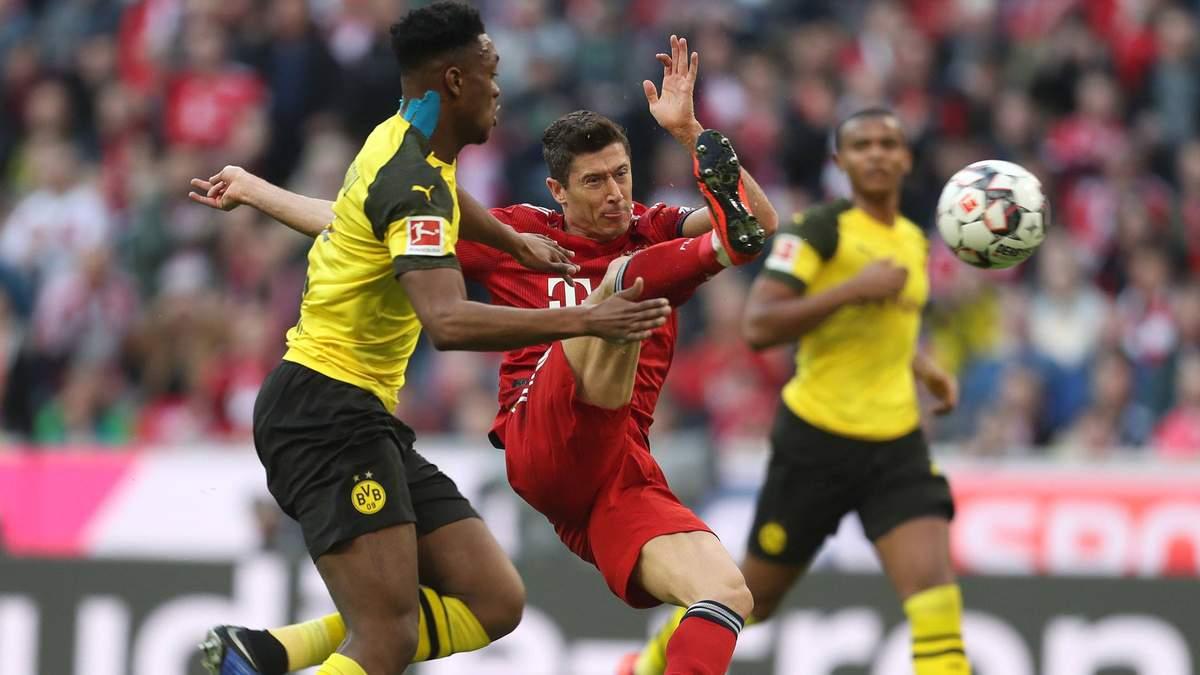 Футбол бавария боруссия время