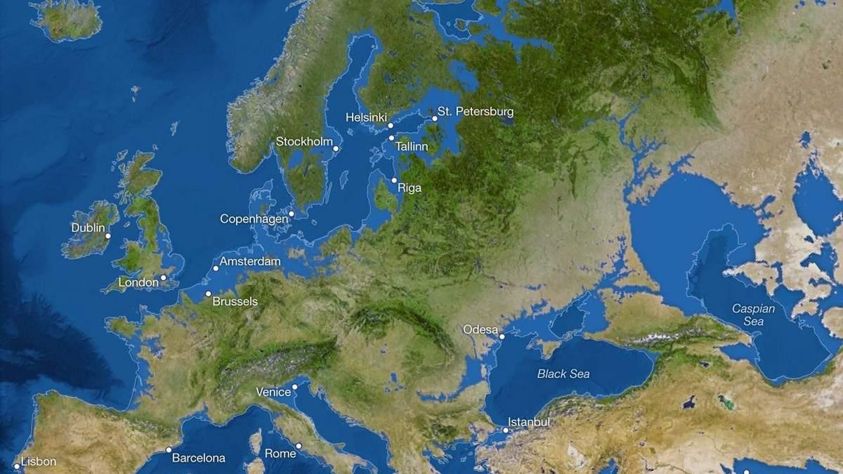 Як зміниться планета після повного танення льодовиків: промовисті фото