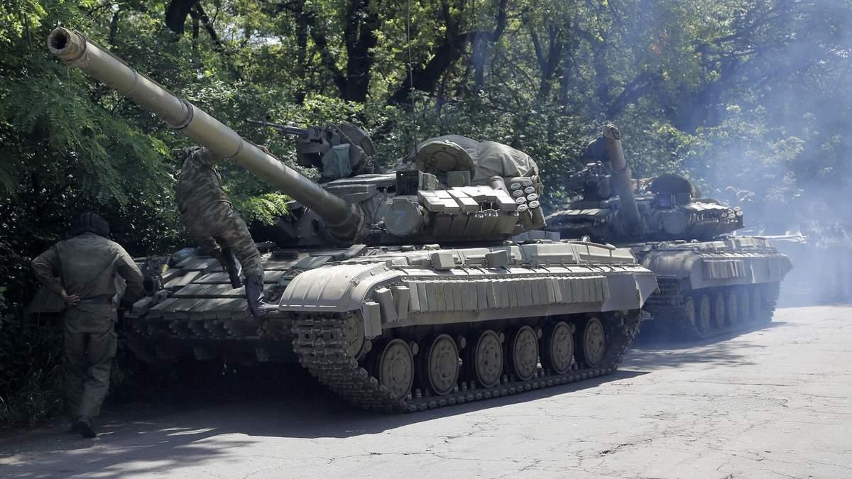 """Танки, """"грады"""" и гаубицы: боевики """"засветили"""" на Донбассе запрещенную технику"""