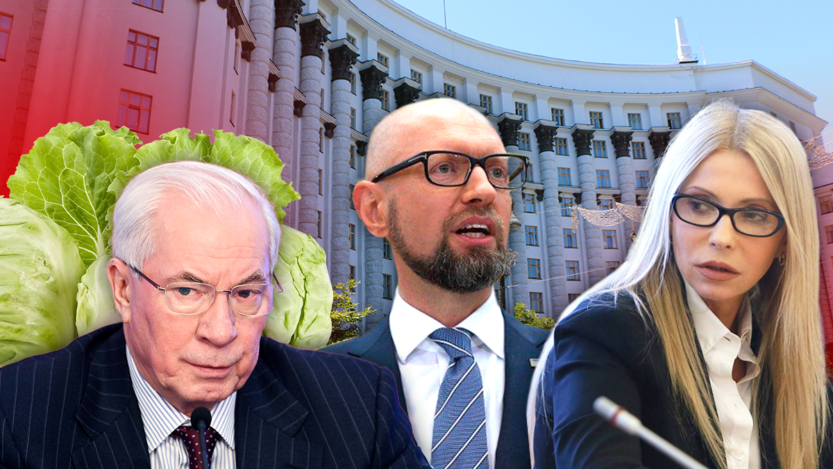 Прем'єр-міністри України ▷ все прем'єр міністри України з 1991 року