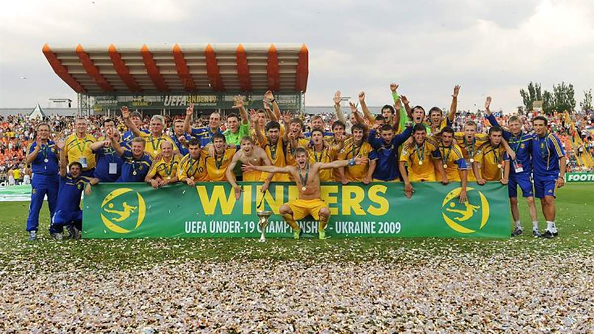 Збірна України U-19 – переможець Чемпіонату Європи