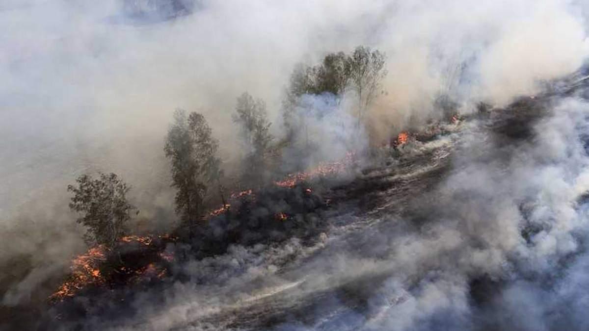 Пожар в Сибири разворачивается