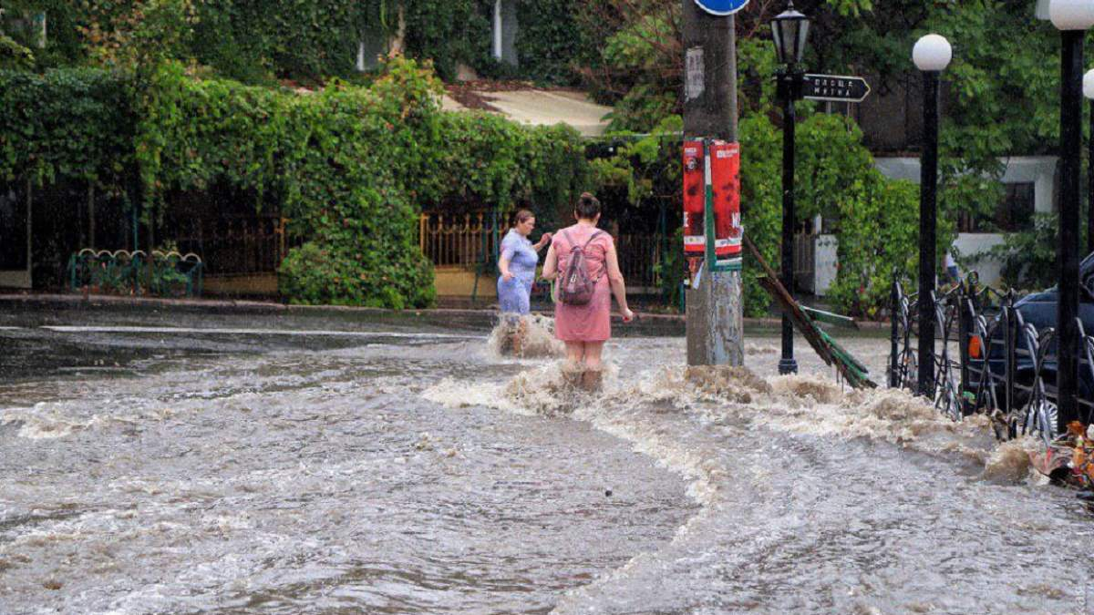 Велика вода в Одесі