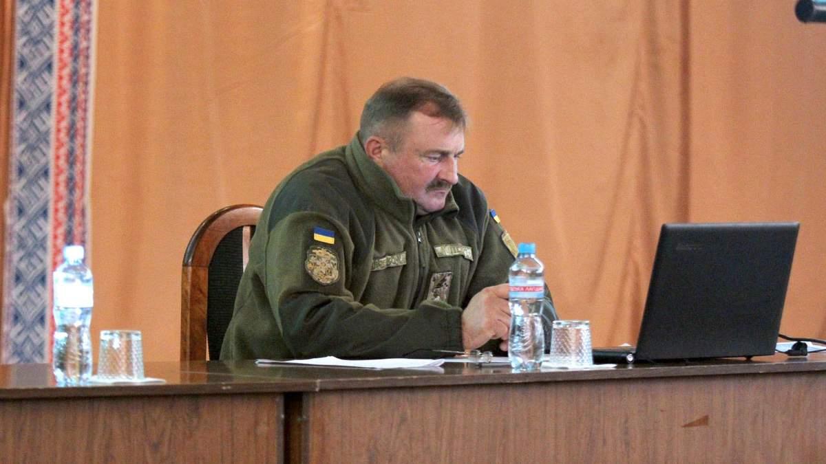 Володимир Кравченко – новий командувач Об'єднаних сил