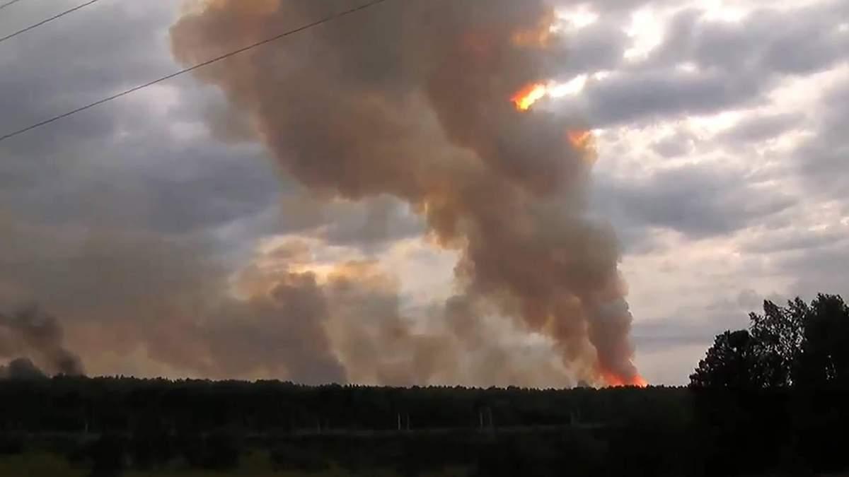 Ачинськ 2019 вибухи: причина вибухів на складах боєприпасів Росії