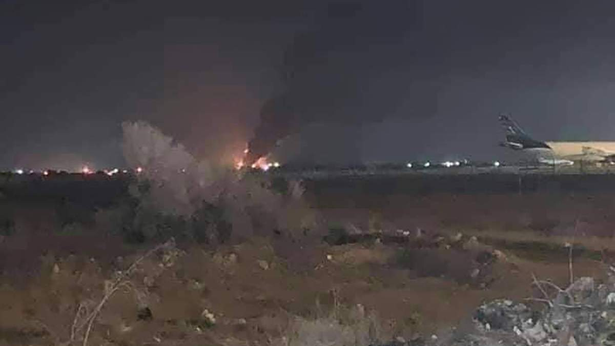 У Лівії дрони знищили український літак згуманітарним вантажем