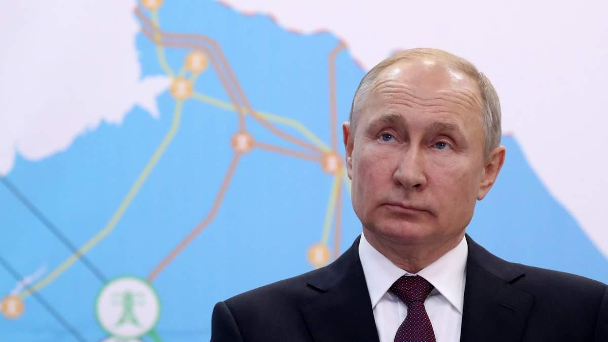 У Путіна підтвердили розмову із Зеленським