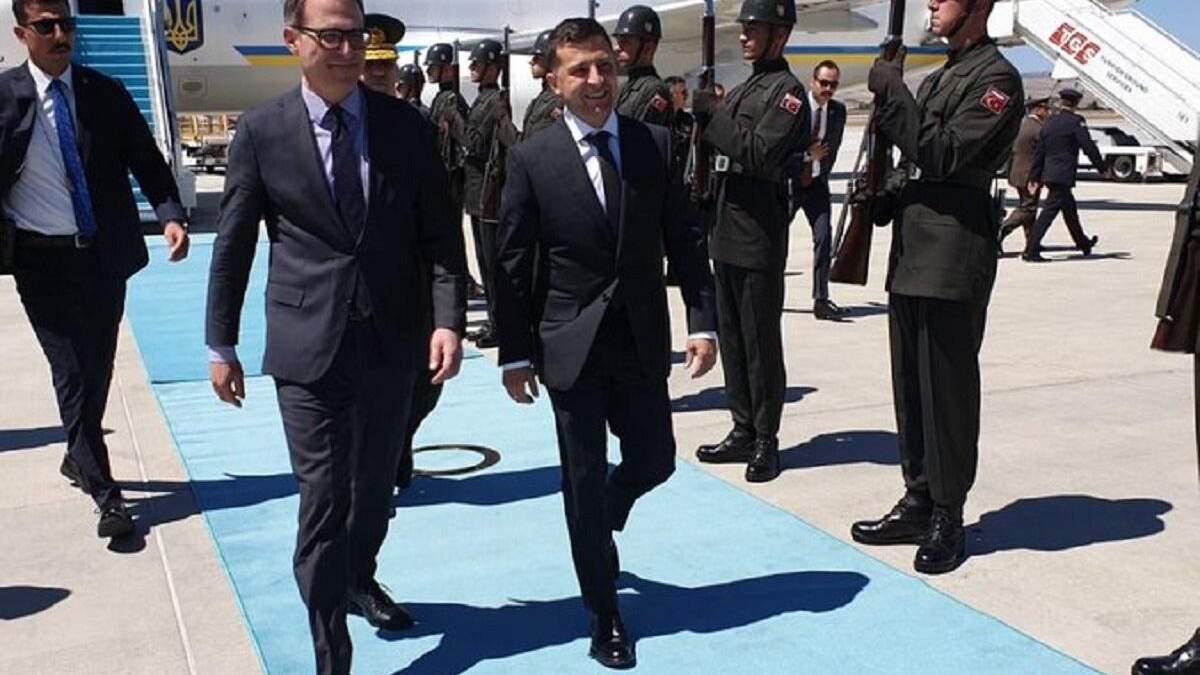 Владимир Зеленский в Турции - подробности визита 7 августа 2019