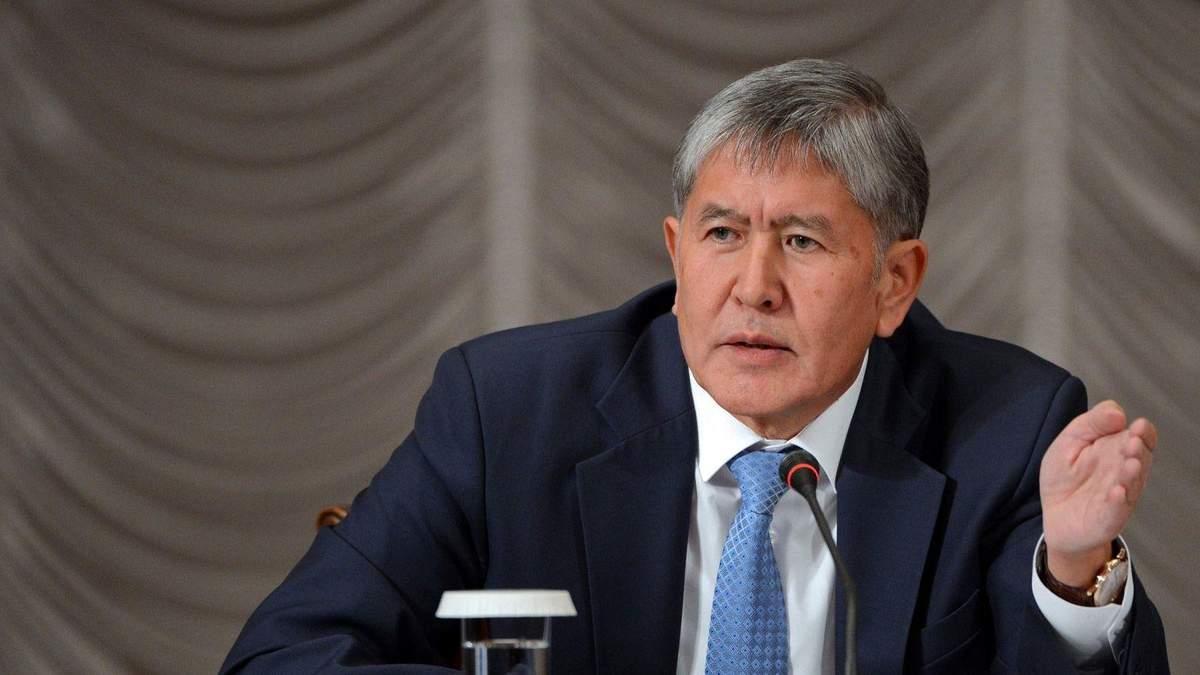 Атамбаєв – третій президент Киргизстану