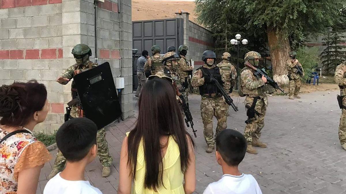 Штурм резиденції екс-президента Киргизстану