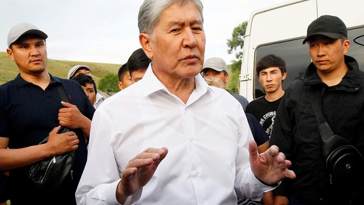 Алмазбек Атамбаєв затриманий – штурм резиденції Атамбаєва в Киргизії