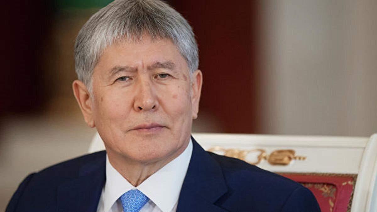 З'явилося відео затримання екс-президента Киргизстану Алмазбека Атамбаєва