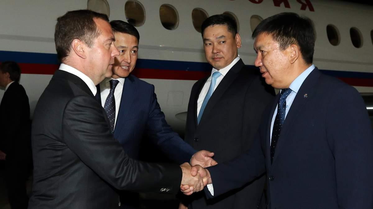 Дмитро Медведєв у Киргизстані