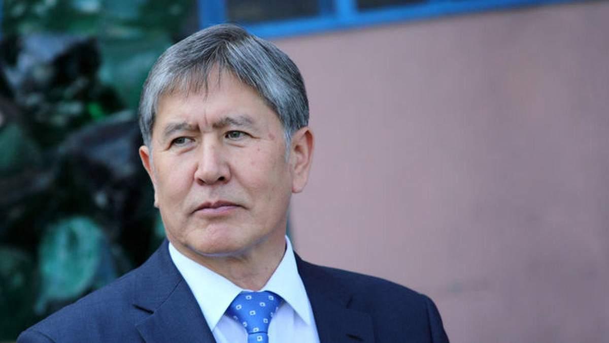 Атамбаева задержали и поместили в следственный изолятор