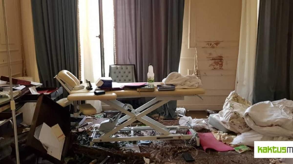 Дім Атамбаєва після штурму