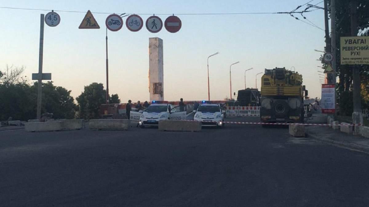 Центральный мост в Днепре