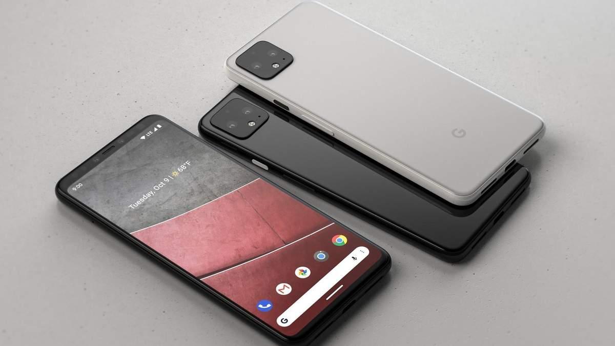 Ймовірний дизайн Google Pixel 4