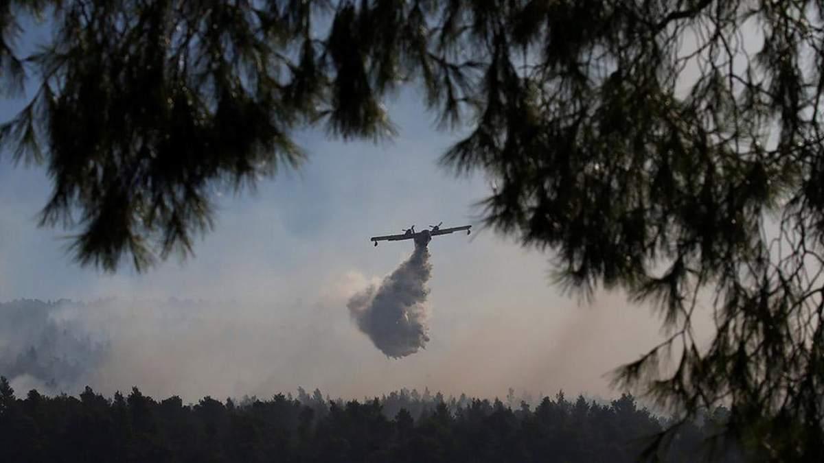 Страшный пожар бушует в Греции: новые фото и видео с места происшествия