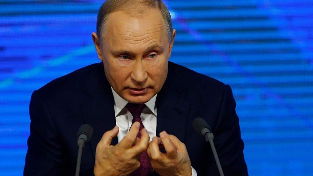Путін дав коментар з приводу протестів