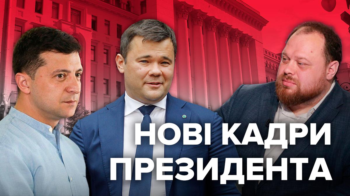 Зеленський Президент України 100 днів: кадрові призначення
