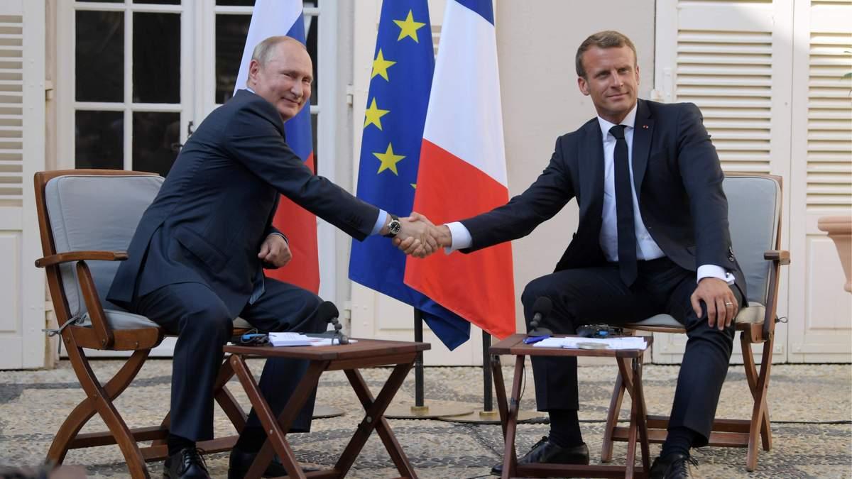 Путін і Макрон обговорювали обмін полоненими між Україною і РФ, – Кремль