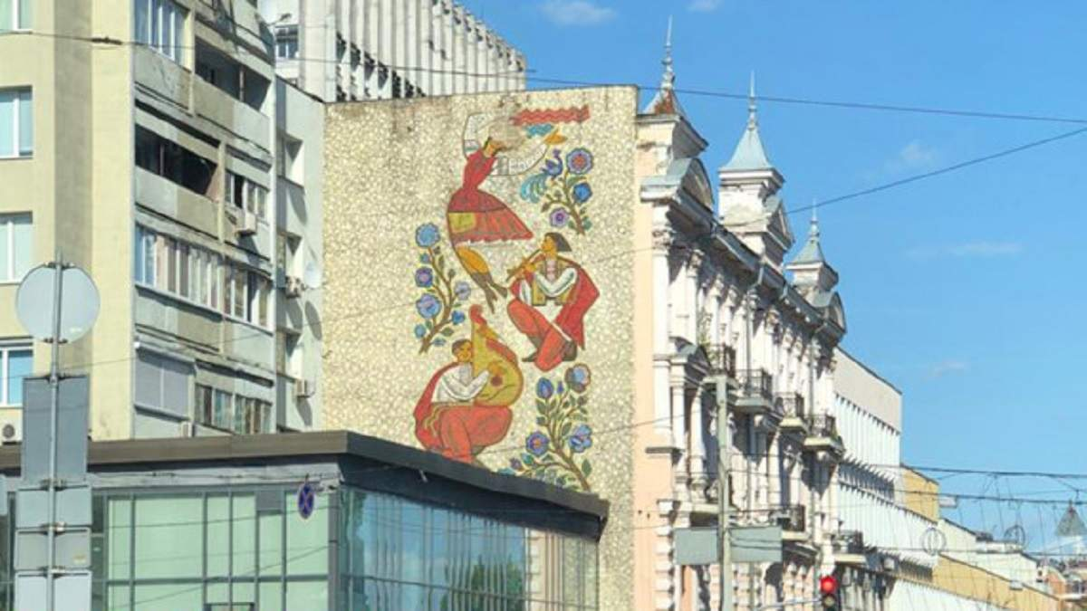 """Подарок киевлянам: """"Шахтер"""" отреставрирует украинскую мозаику в центре Киева"""