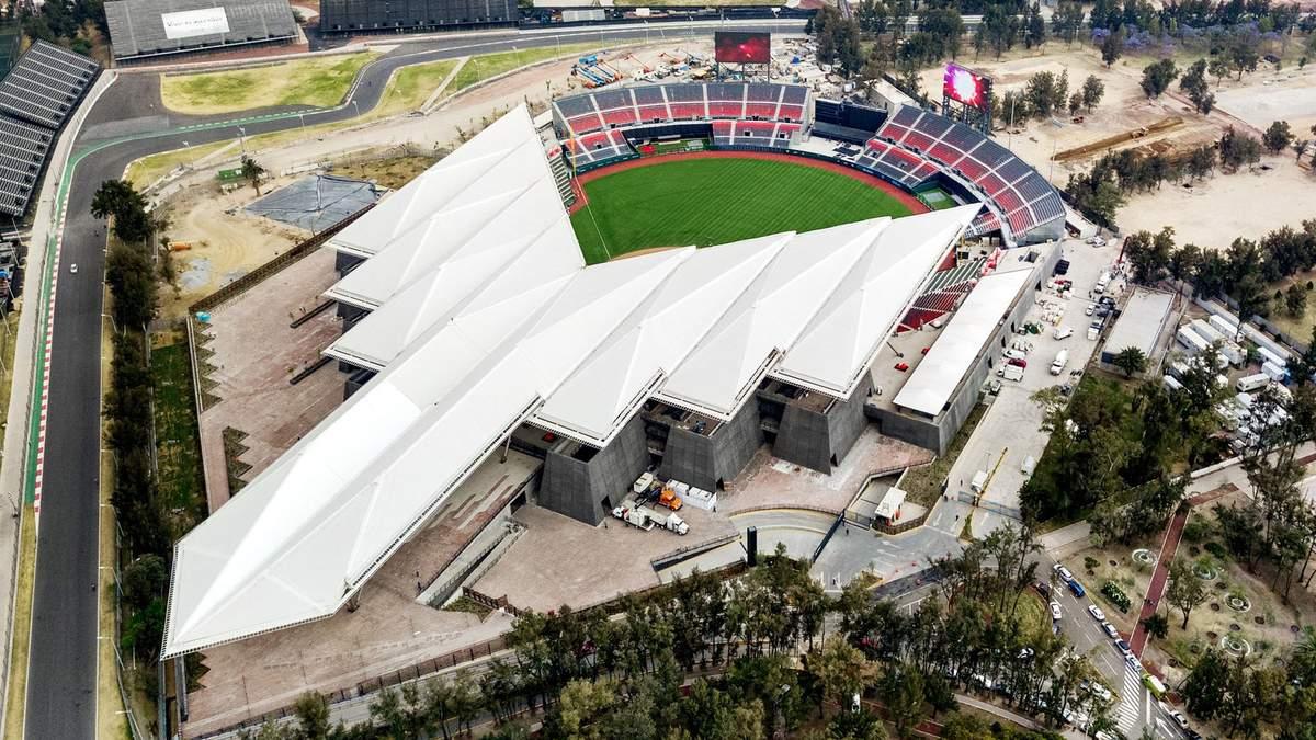 Бейсбольний стадіон у Мехіко