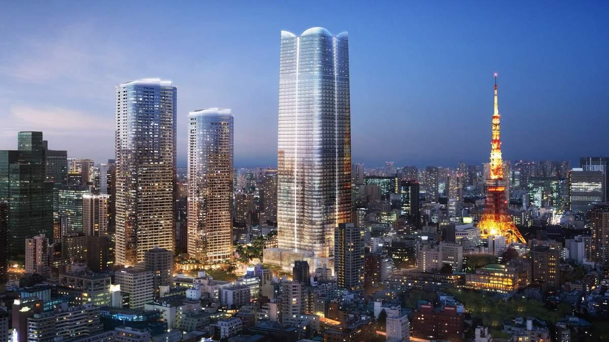 Новый самый высокий небоскреб Японии появится в Токио