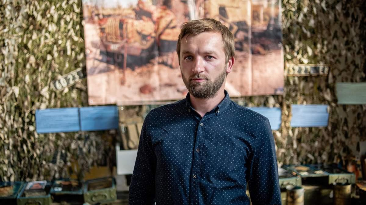 Співавтор проекту AFTERILOVAISK Маркіян Лисейко