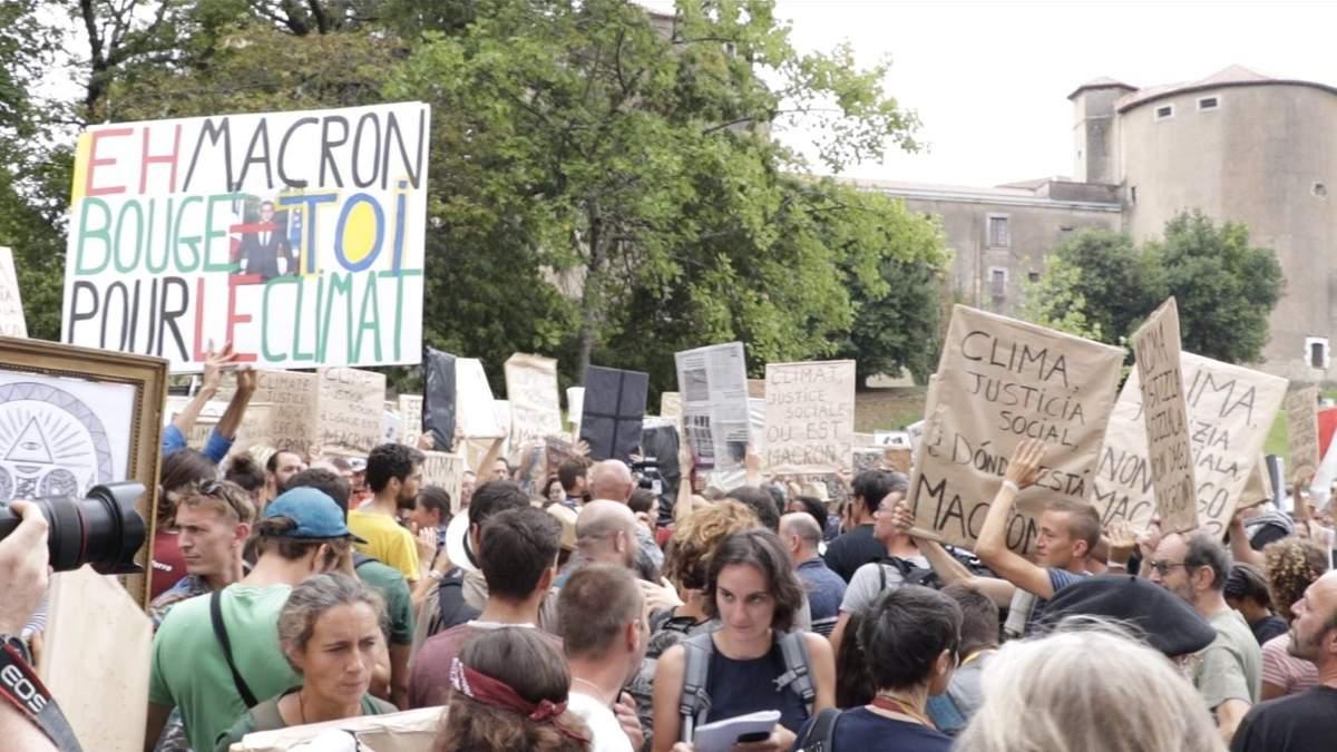 """""""Макрон – лідер не у збереженні клімату, а лише – в балачках…"""""""